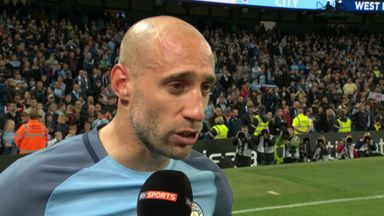 Zabaleta thanks City fans