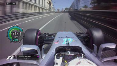 Hamilton's impressive save