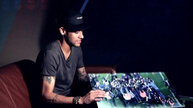 Neymar on MSN, title & Clasico