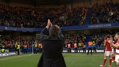 Conte applauds Boro fans