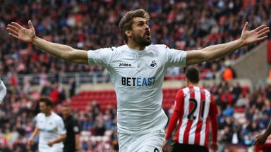 Sunderland 0-2 Swansea