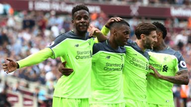 West Ham 0-4 Liverpool