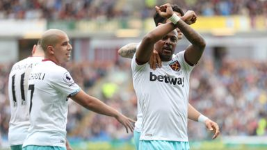 Burnley 1-2 West Ham
