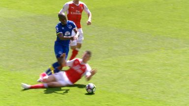 Should Koscielny have seen red?