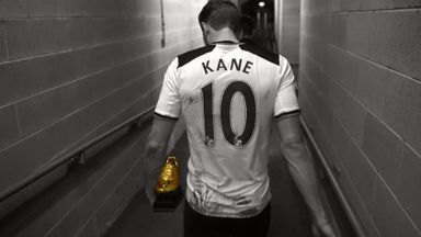 Harry Kane golden boot 2016/17