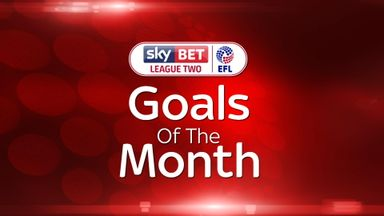 League Two - Goal of the Month – April 2017