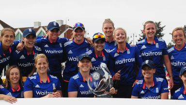 Claire Taylor is backing England for World Cup success