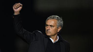 Mourinho happy with performance