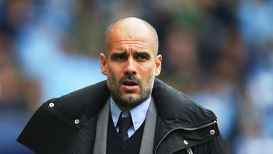Pep happy with strikers