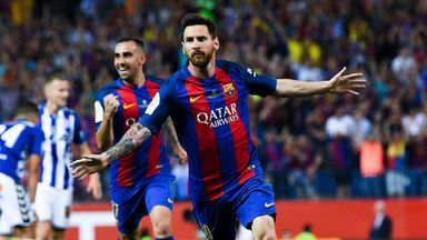 Messi magic in Copa del Rey