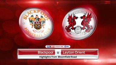 Blackpool 3-1 Leyton Orient