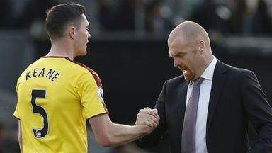 Dyche aiming to keep Keane