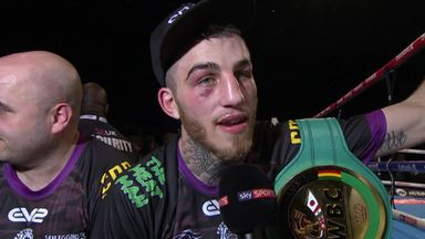 Eggington seizes European title