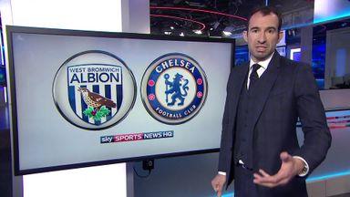 Chelsea v West Brom tactics
