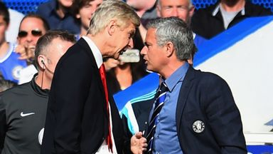 Mourinho and Wenger: The rivalry
