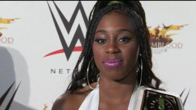 Naomi talks to Sky Sports