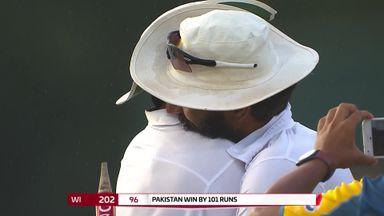 West Indies v Pakistan: Day 5 highlights
