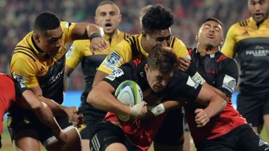 Crusaders 20-12 Hurricanes