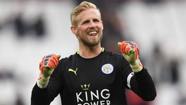 Schmeichel 'honoured' to win awards