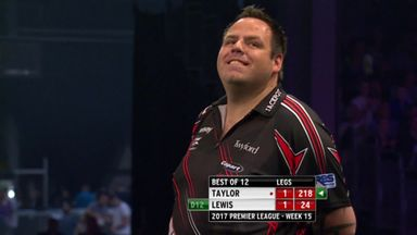 Lewis nearly grabs 2nd 9 darter!