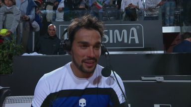 Fognini beats Murray at Foro Italico