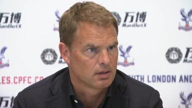 De Boer takes over at Palace