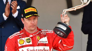 'Kimi expected the win in Monaco'