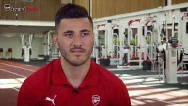 Kolasinac 'pleased' to join Arsenal