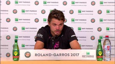 Wawrinka full of praise for Nadal