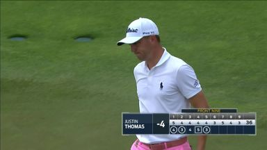 Ingenious putt from Thomas