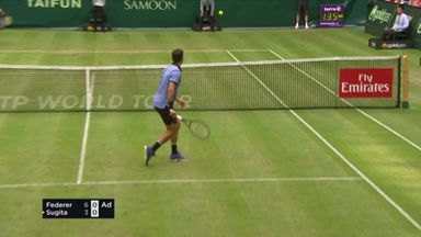 Federer's magical touch