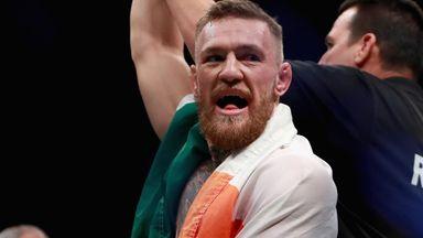 McGregor spars with van Heerden