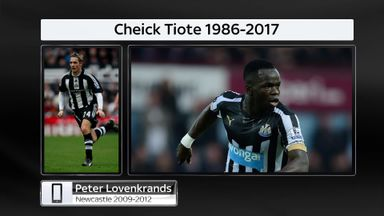 Lovenkrands pays tribute to Tiote