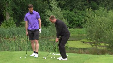 Footballers on the Fairway: Begovic v Tubes