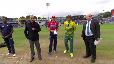 England v South Africa 3rd T20: The Toss