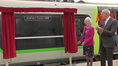Train named after Graham Taylor