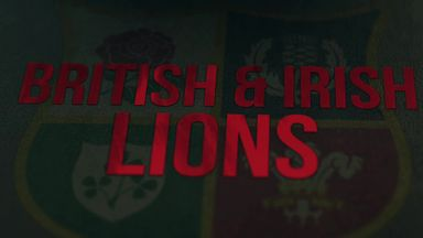 First Test Lions: The Chosen Ones