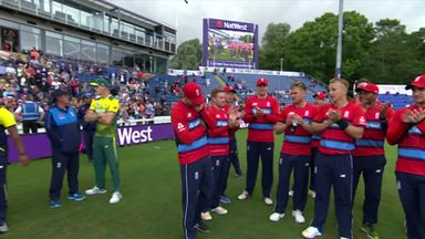 England v South Africa 3rd T20: The Presentation