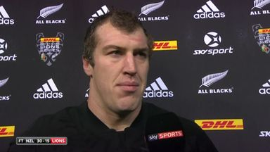 Retallick enjoyed the battle