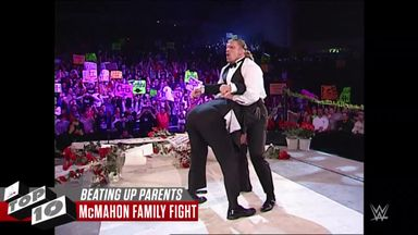 WWE Top 10: Superstars beat up rival's parents