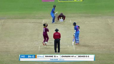 WI v India 2nd ODI: Highlights