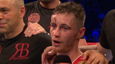 Burnett becomes World champion
