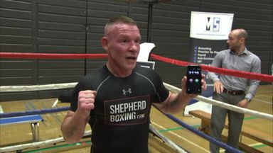 Shepherd attempts push up record