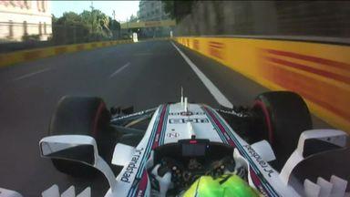 Massa's wild lap