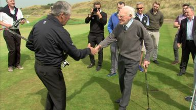 The Open's oldest fan?