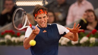 Madrid: Thiem v Cuevas