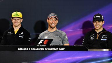 Monaco GP -Drivers Press Conference
