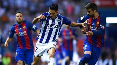 Copa Del Rey: Barcelona v Alaves