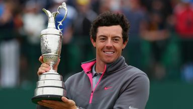 The Open: McIlroy 2014