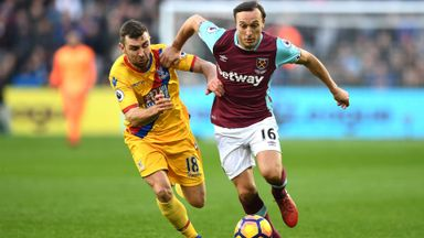 West Ham v Crystal Palace